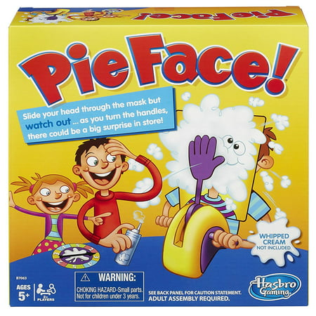 Hasbro Board Game - Pie Face! (Best Toys For 3 And 4 Year Olds)