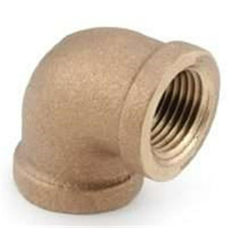 Pipe Fittings Brass Elbow Lead Free 90 Degree 3 8 Anderson 738100 06