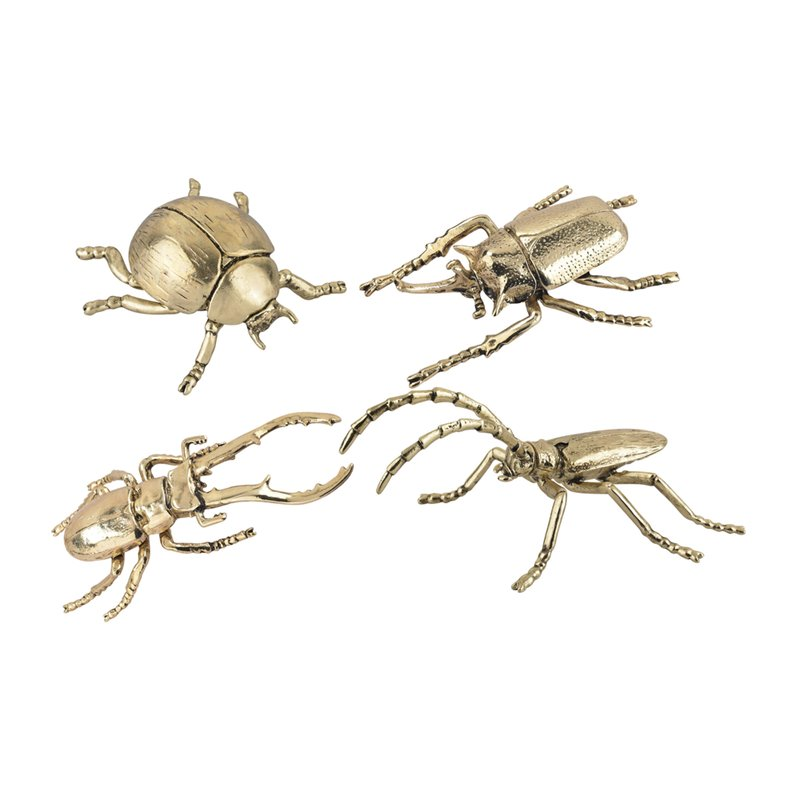 Dimond Home 165-001/S4 Hand Forged Gold Insects - Set of 4