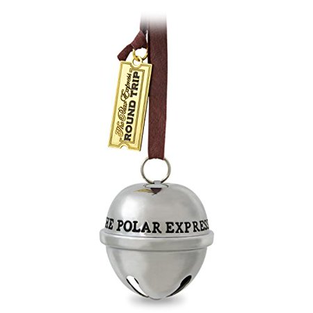 Hallmark Keepsake 2017 THE POLAR EXPRESS Santa's Sleigh Bell Dated Christmas - Annual Dated Ornament