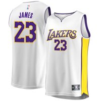 10605f92daba Product Image LeBron James Los Angeles Lakers Fanatics Branded Youth  2017 18 Fast Break Replica Jersey White