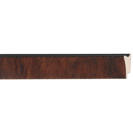 Picture Frame Moulding (Wood) - Contemporary Walnut Finish - 1.75