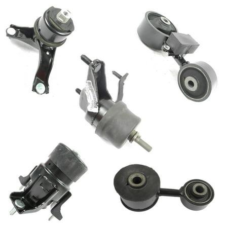 08 Carb Engine - For 2007-2009 Camry 2.4L Engine Motor & Trans Mount Set 4269 4274 4288 4295 62009 M1224 07 08 09