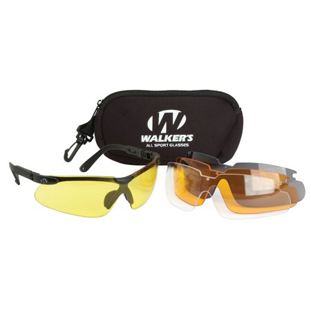 3e5fa1b95e1 ... UPC 813628077329 product image for Walkers All-Sport Glasses w  4  Interchangeable Lenses ...