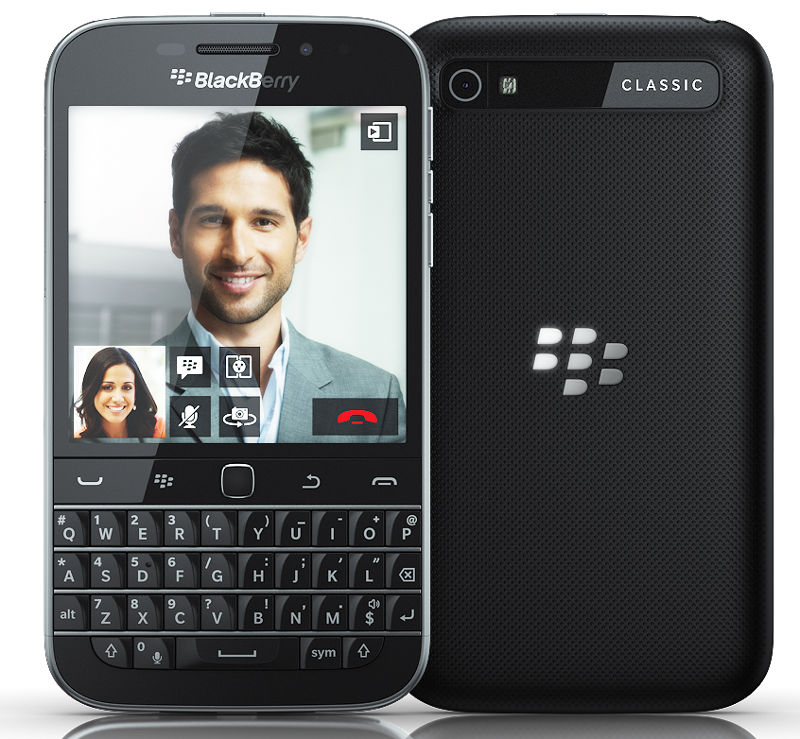 Blackberry Classic Q20 16GB AT;T GSM Unlocked, Black