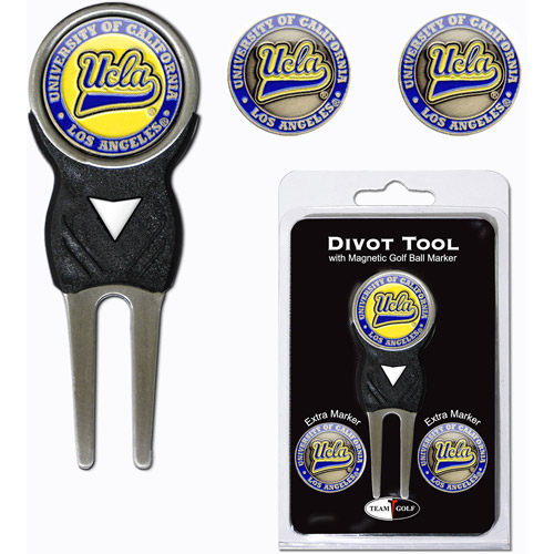 Team Golf NCAA Ucla Divot Tool Pack With 3 Golf Ball Markers