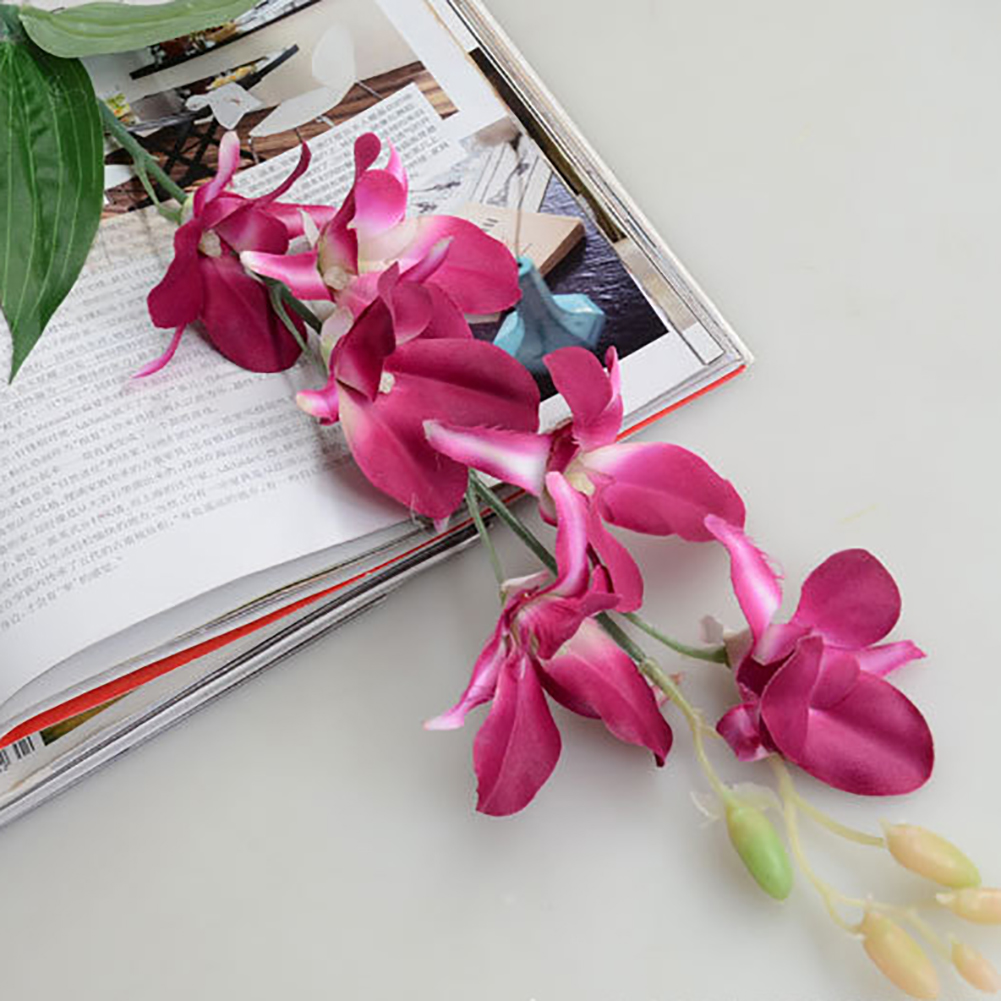 Moderna 1PC Artificial Fake Orchid Flower Plant Home Office Wedding Party Decor Ornament