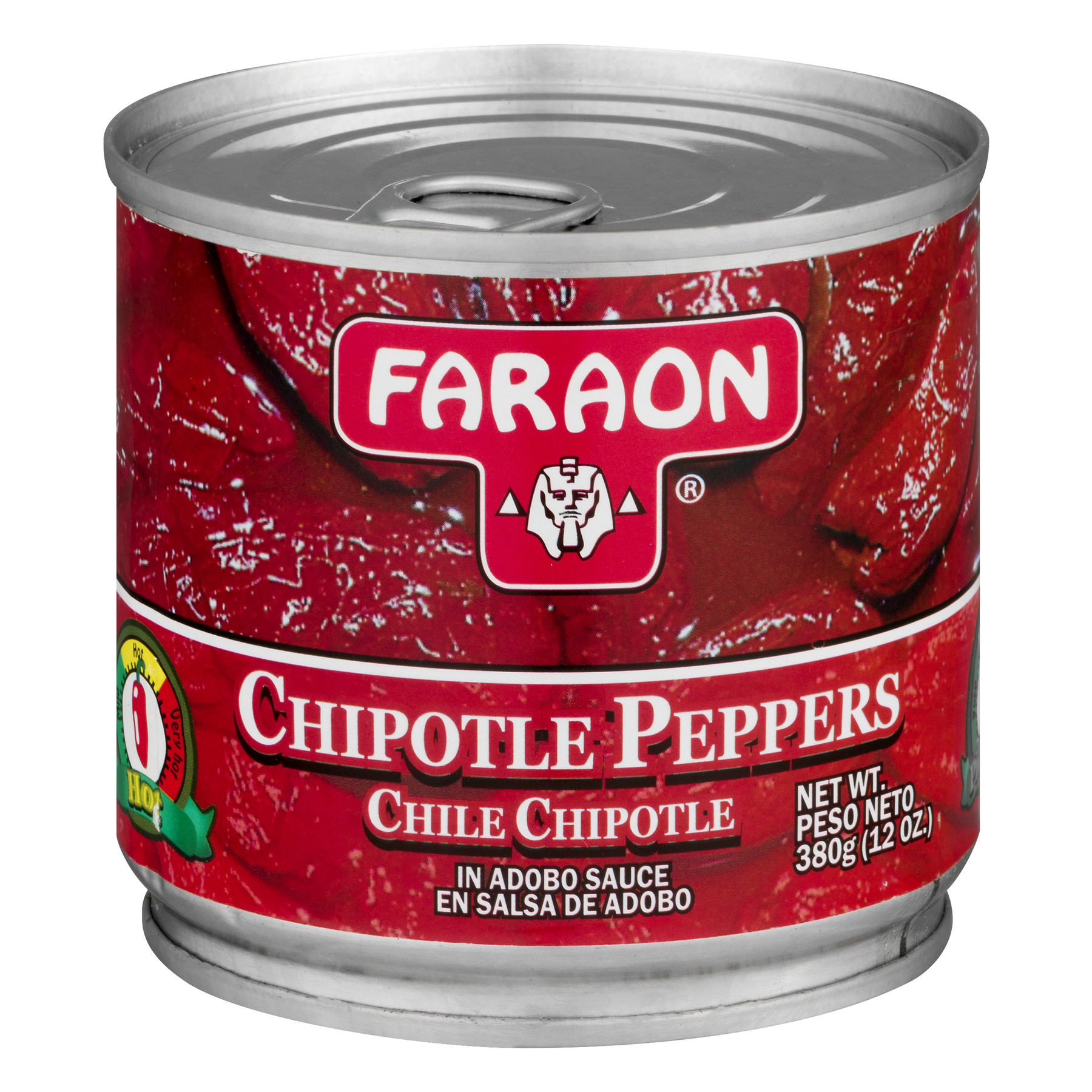 Faraon Chipotle Peppers In Adobo Sauce, 12.0 OZ by Faraon Foods