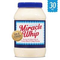 Miracle Whip Original Dressing, 30 fl oz Jar