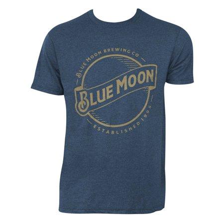 Blue Moon Gold Logo Tee Shirt