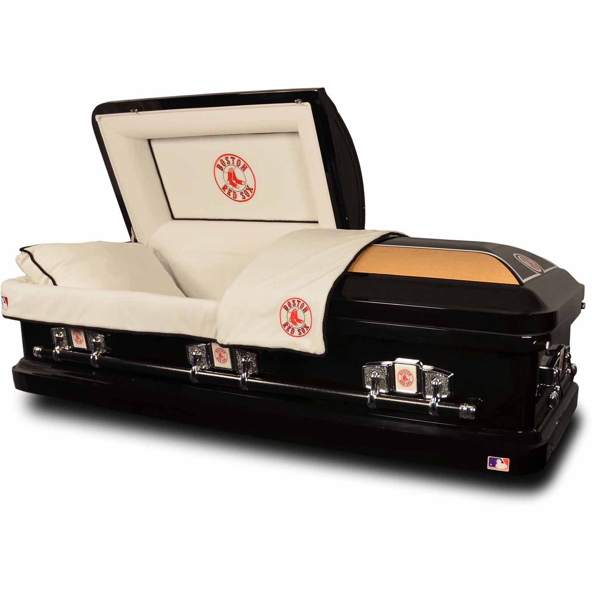 official major league baseball casket, boston red sox - walmart