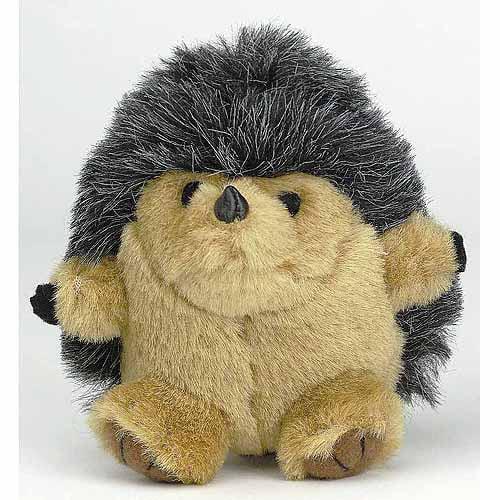Petmate Doskocil Co. Inc. Hedgehog Squatters Dog Toy, Medium