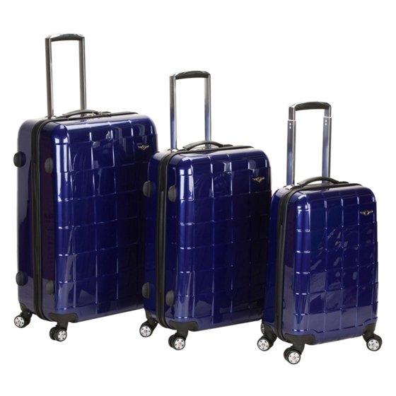Bestselling Rockland Luggage Celebrity 3 Piece Luggage Set ...
