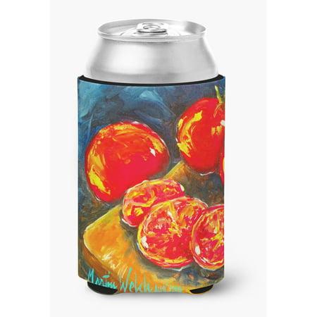 0.25 Slice - Vegetables - Tomato Slice It Up Can or Bottle Beverage Insulator Hugger