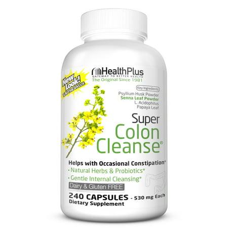 Health Plus Super Colon Cleanse, 240 Capsules, 120