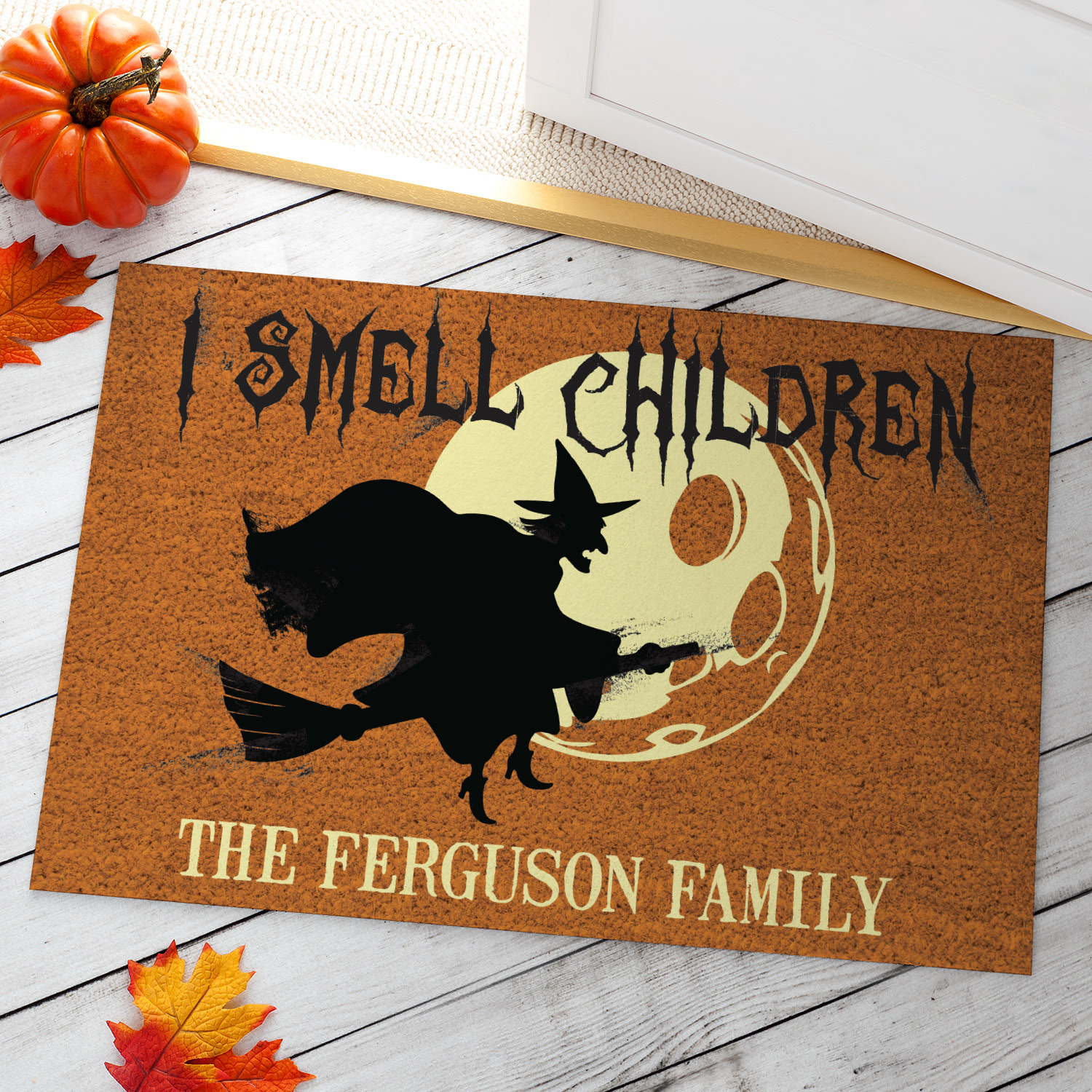 I Smell Children Personalized Doormat