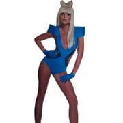 Womens Lady Gaga Poker Face Video Swim Suit  Halloween Costume Cosplay Single