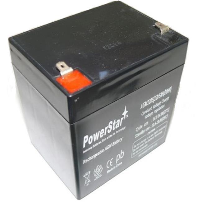 PowerStar AGM1205-667 12V 5Ah PS12-5 Battery Fits Belkin F6C550spAVR