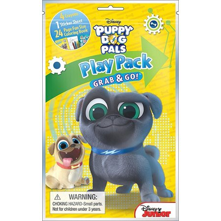 Party Favors - Puppy Dog Pals - Grab N Go Play Pack (Puppy Themed Party Supplies)
