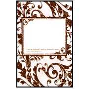 Side Imprint Areas (Bulletin-:W-My Beloved-Blank Imprint Area (Pack Of 100))