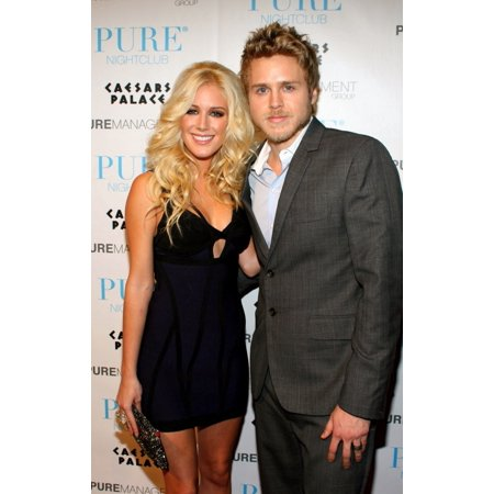 Heidi Montag Spencer Pratt In Attendance For PureS New YearS Eve Bash CaesarS Palace Casino Hotel Resort Las Vegas Nv December 31 2008 Photo By James AtoaEverett Collection Celebrity ()