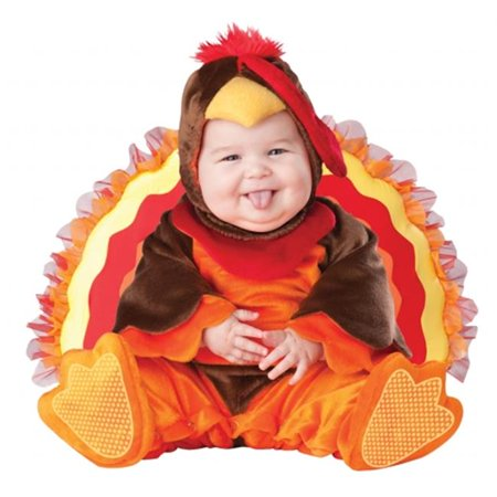 Costumes For All Occasions Ic6030Txs Lil Gobbler Inf 6-12 (Lil' Gobbler Infant Costumes)