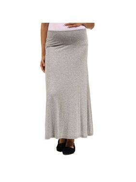 Women's Maternity Maxi Skirt
