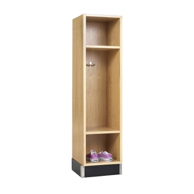 DWI BP-1215-51K 3 Openings Backpack Cabinet, Oak