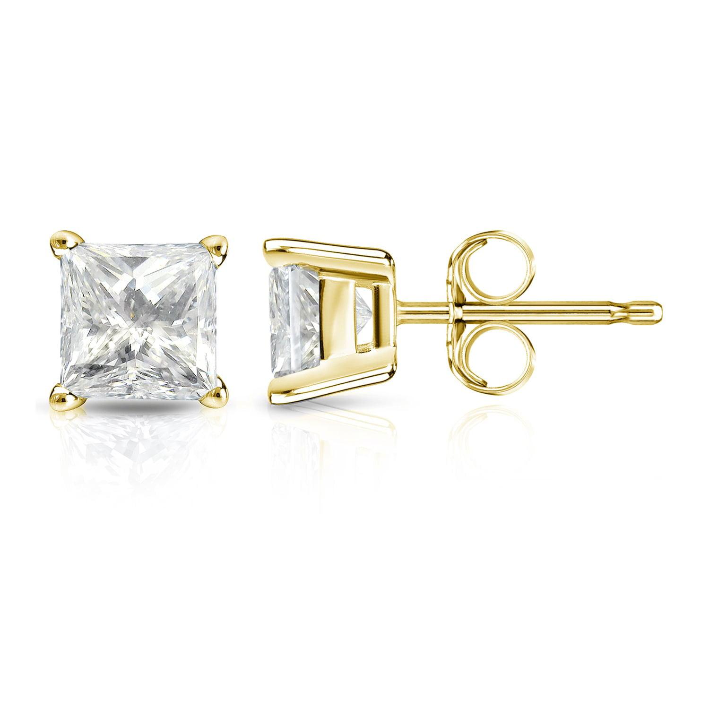 Auriya Auriya 14k Gold 1 1 4ct Tdw Square Princess Cut Diamond