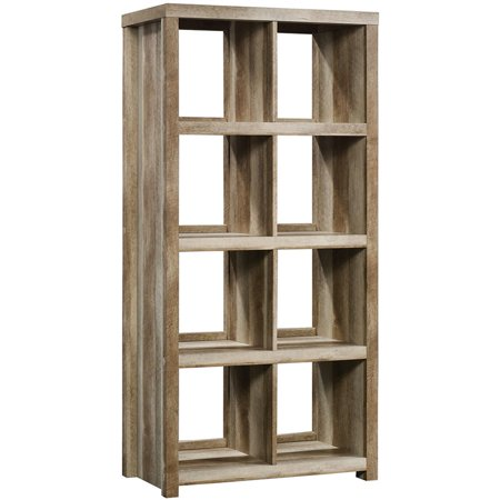 Sauder HomePlus 8 Cubby Bookcase in Lintel - Eight Cubby
