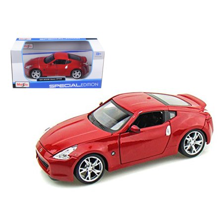 2009 Nissan 370Z Red 1/24 Diecast Model Car by Maisto ()