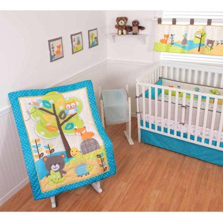 Sumersault Woodland Friends 10-Piece Crib Set by