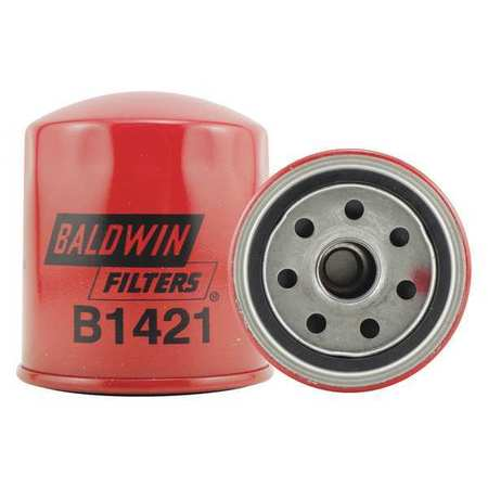 "Oil Fltr,Spin-On,3-7/16""x3-1/32""x3-7/16"" BALDWIN FILTERS B1421"