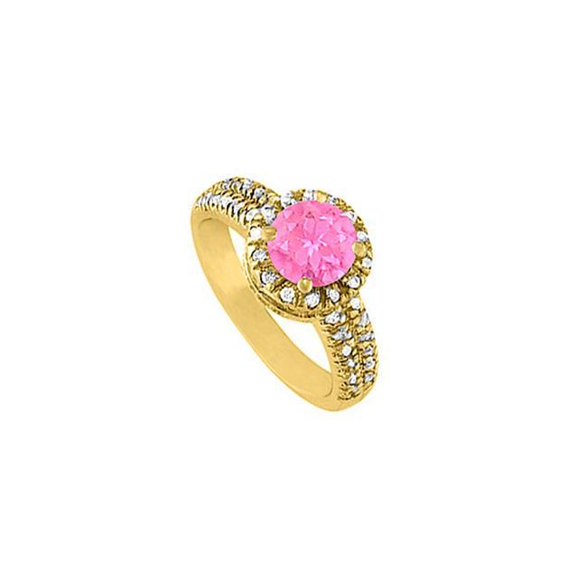 FineJewelryVault UBUNR50425AGVYCZPS Fabulous Jewelry Pink...