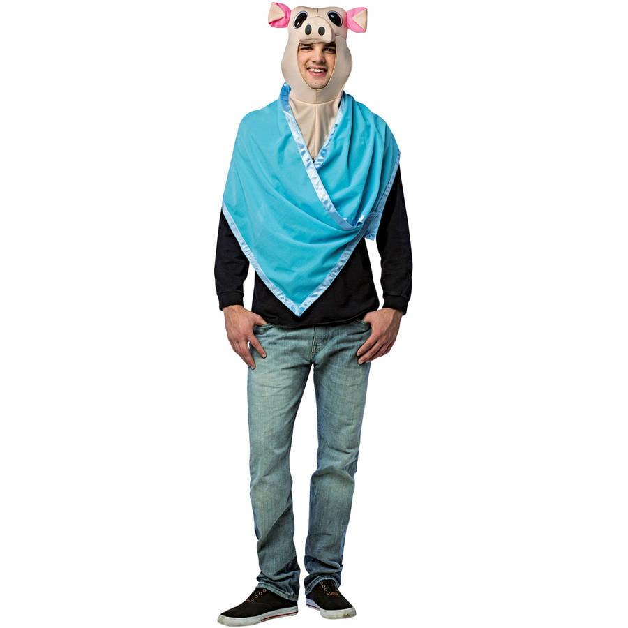 Pig In a Blanket Kit Men's Adult Halloween Costume