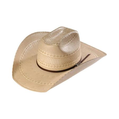 Twister Twister Mens Shantung Straw Diamond Cowboy Hat M73232
