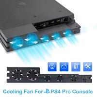 TSV External Fan Super Cooling System for Playstation 4 Pro, Black