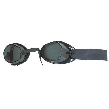 TYR Socket Rocket 2.0 Goggle: Black Frame/Smoke Lens (Tyr Socket Rocket)