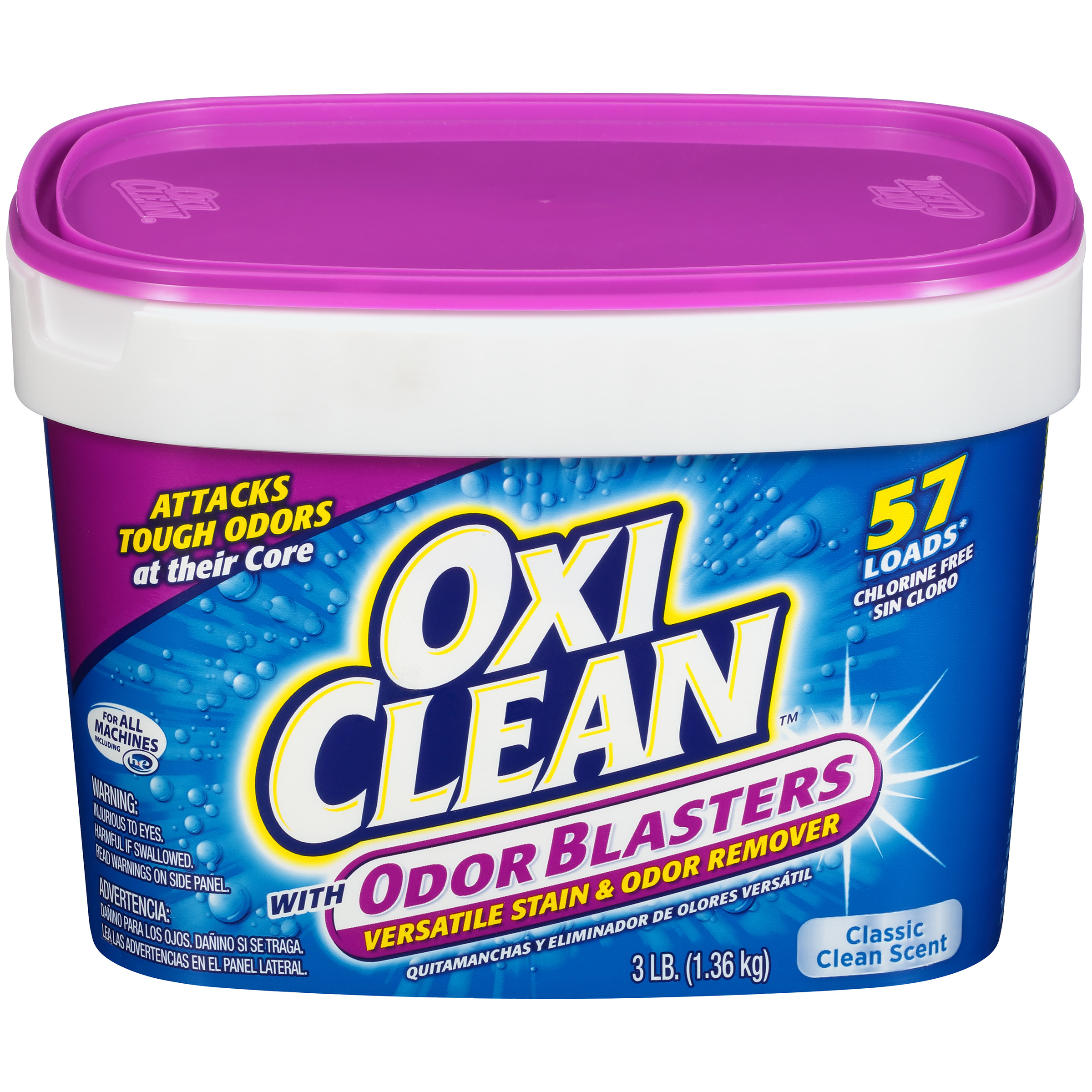 OxiClean Odor Blasters Versatile Stain Remover, 3 lb