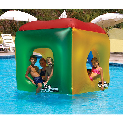 The Cube Inflatable Pool Toy by INTERNATIONAL LEISURE PRODUCTS