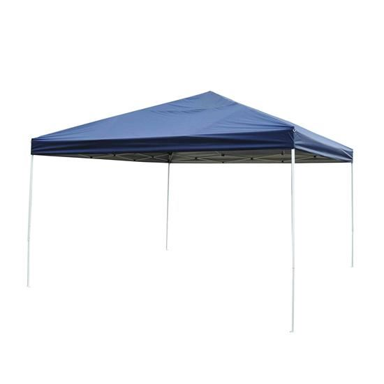 Outsunny 13' x 13' Easy Pop Up Party Tent Blue by OnlineGymShop