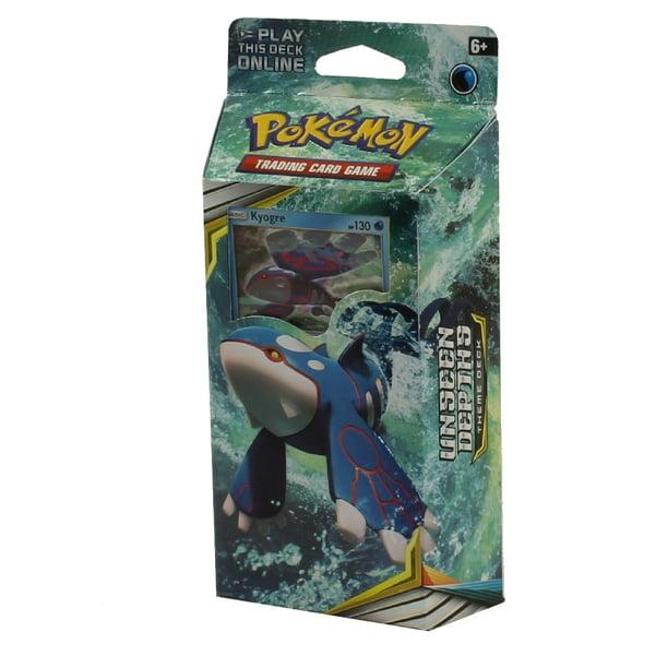 Pokémon TCG Sun /& Moon-Cosmic Eclipse Unseen Depths Theme Deck Kyogre