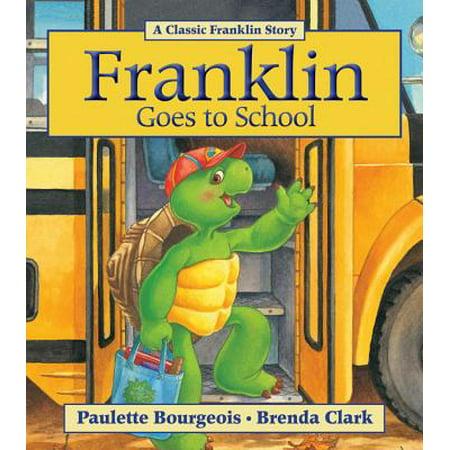 Franklin Goes to School - Franklin's Halloween Paulette Bourgeois