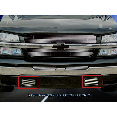 Chevy Silverado Tow Hook - Fedar Tow Hook Billet Grille For 2003-2007 Chevy Silverado Tow Hook