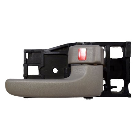 TO-2901G-RH - Inside Interior Inner Door Handle, Gray (Charcoal) - Passenger Side, Note: for Toyota Tundra - This items fits 4-Door Crew Cabs ONLY By PT Auto Warehouse