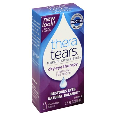 - Thera Tears® Dry Eye Therapy Lubricant Eye Drops 0.5 fl. oz. Box