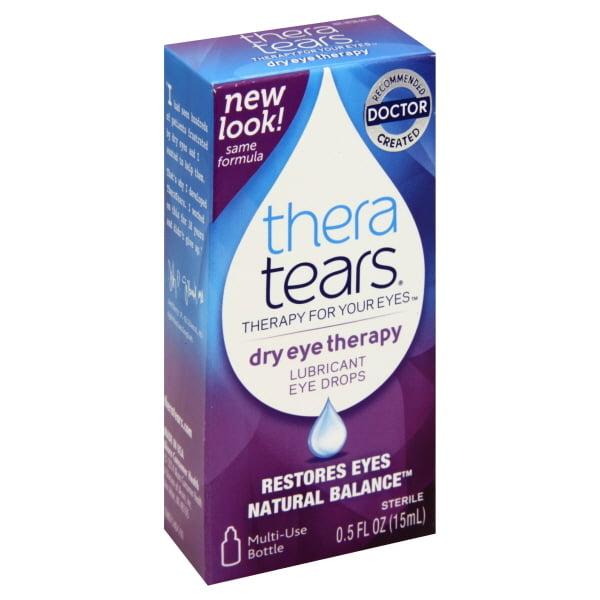 Thera Tears® Dry Eye Therapy Lubricant Eye Drops 0.5 fl. oz. Box