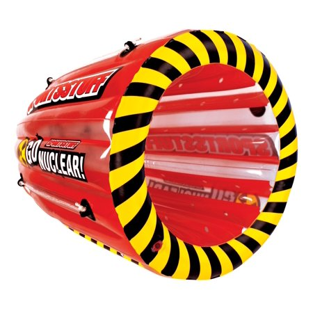 SPORTSSTUFF Gyro 53-1818 Tumbling 1-Person Rider Towable Boat Lake Water (Sportsstuff Mini Accents)