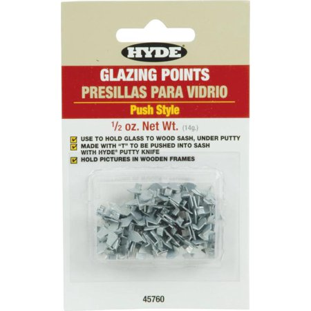 Hyde 45760 Push Glazier Point