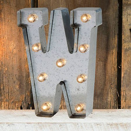 light up marquee letter w walmartcom With marquee letters walmart